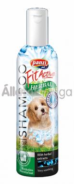 Panzi FitActive Herbal - gyógynövényes sampon kutyáknak 200 ml-es