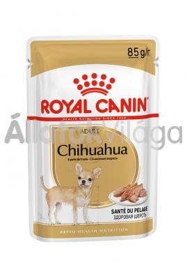 RoyalCanin Chihuahua Adult - Csivava felnőtt kutya nedves alutasakos eledel 85 g-os