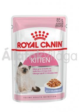 RoyalCanin Kitten Jelly kölyök macskáknak zselés alutasakos eldel 85 g-os