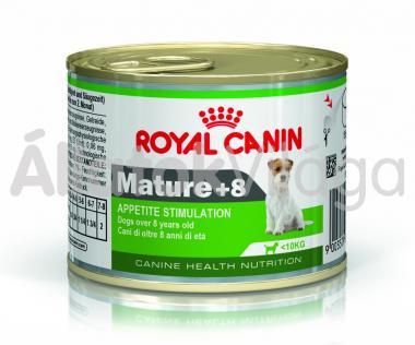 RoyalCanin Mature +8 konzerv idős kutyaeledel nedves 195 g-os