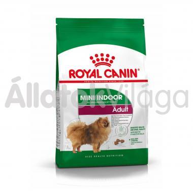RoyalCanin Mini Indoor Adult - lakásban élő kistestű felnőtt kutya száraz eledel 1,5 kg-os