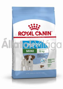 RoyalCanin Mini Junior-kölyök kutyaeledel 2 kg-os