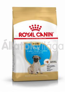 RoyalCanin Pug (Mopsz) Junior-kölyök kutyaeledel 500 g-os
