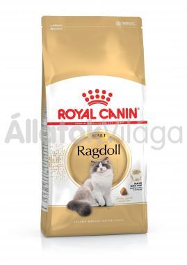 RoyalCanin Ragdoll Adult-felnőtt macska eledel száraz 10 kg-os