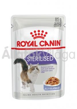 RoyalCanin Sterilised Jelly ivartalanított macskáknak zselés alutasakos eldel 85 g-os