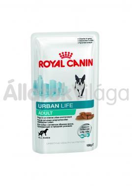 RoyalCanin Urban Life Adult-felnőtt alutasakos kutyaeledel nedves 150 g-os