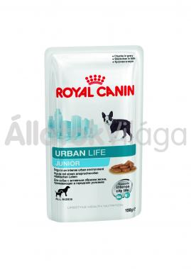 RoyalCanin Urban Life Junior-kölyök alutasakos kutyaeledel nedves 150 g-os