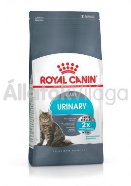RoyalCanin Urinary Care - alsó húgyuti problémákat megelőző felnőtt macska száraz eledel 10 kg-os