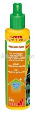 Sera flore 3 vital 50 ml-es 200 literhez