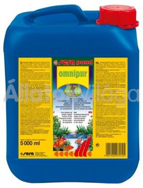 Sera pond omnipur 5 literes 100 m3-hez