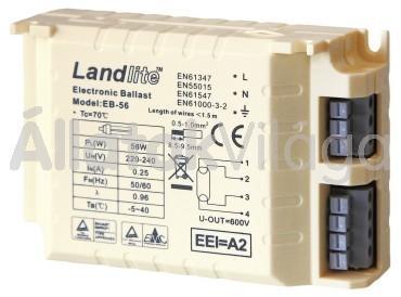 Sera elektronikus előtét pond UV-C-System 55 W-hoz 8239