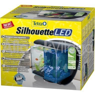 Tetra Silhouette LED komplett akvárium szett 12 literes