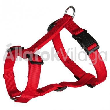 Trixie H-textil hám XS-S-es 10 mm/30-40 cm-es piros 14303