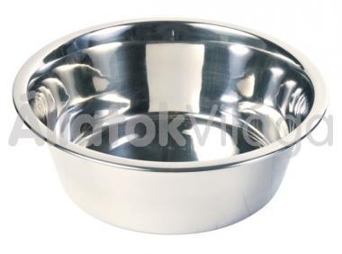 Trixie fém tál egyszerű 0,45 literes 12 cm-es 24841