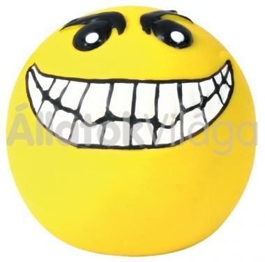 Trixie latex kutyajáték sárga nevető labda több féle 6 cm-es 35266