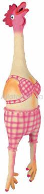 Trixie latex kutyajáték csirke nagy lány 48 cm-es 35495
