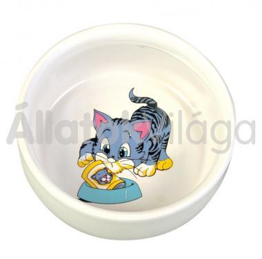 Trixie kerámia macska tál 0,30 liter/11 cm-es 4009