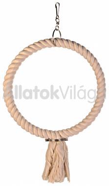 Trixie kötél karika hinta 25 cm-es 5166