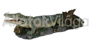 Trixie akvárium dekoráció krokodil 26 cm-es 8716