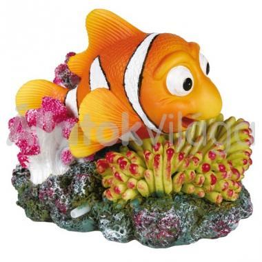 Trixie akvárium dekoráció bohóchal és korall 12x10 cm-es 8717