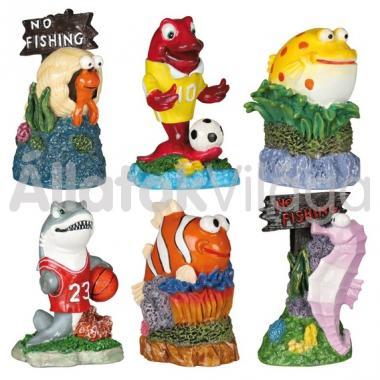 Trixie akvárium dekoráció tengeri élőlények 7 cm-es 8792