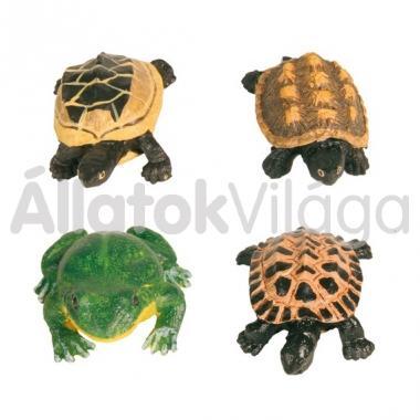 Trixie akvárium-terrárium dekoráció béka vagy teknős forma 8971