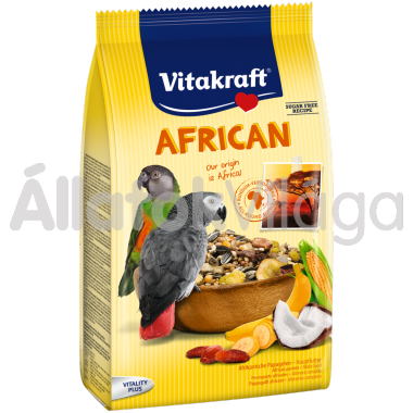 Vitakraft African jákó eledel 750 g-os