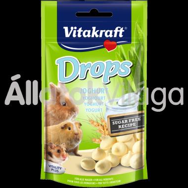 Vitakraft Drops Joghurt joghurtos rágcsálóknak 75 g-os