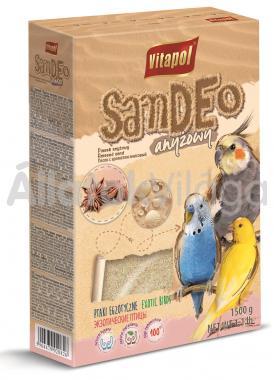 Vitapol madár homok ánizsos 1500 g-os