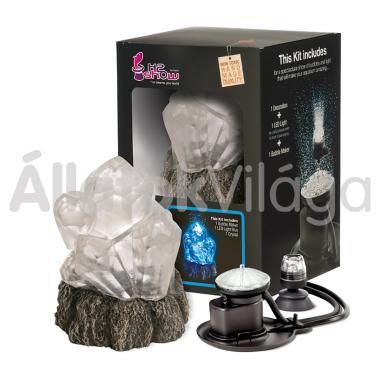 Hydor H2shOw dekoráció Wonder Kits kristály + levegőztető + kék LED