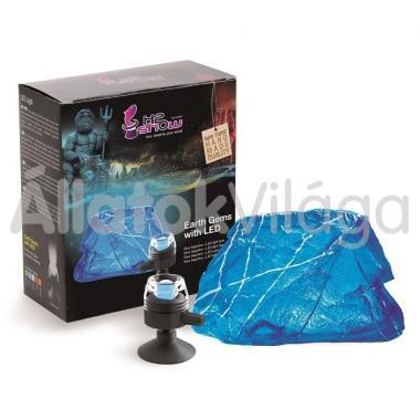 Hydor H2shOw dekoráció Earth Gems kék zafír + kék Led