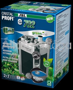 JBL CristalProfi e702 greenline külső szűrő 60-200 literig
