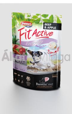 Panzi FitActive Adult-felnőtt Everyday Small Beef & Apple marha & alma kutyaeledel 300 g-os