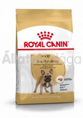 RoyalCanin French Bulldog (francia bulldog) Adult-felnőtt kutyaeledel száraz 9 kg-os