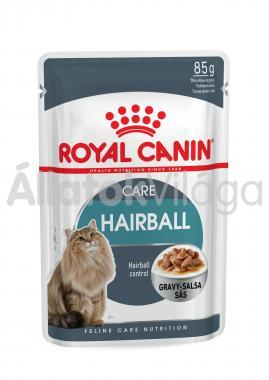 RoyalCanin Hairball Care Gravy szőrlabdák ellen macskáknak szószos alutasakos eldel 85 g-os
