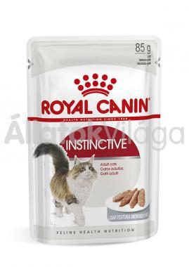 RoyalCanin Instinctive Loaf felnőtt macskáknak pépes alutasakos eldel 85 g-os