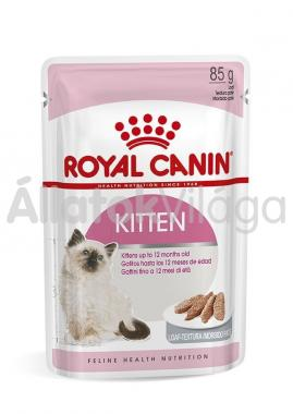 RoyalCanin Kitten Loaf kölyök macskáknak pépes alutasakos eldel 85 g-os