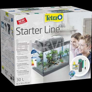 Tetra Starter Line LED Crayfish komplett akvárium szett 30 literes 41x25x30 cm-es