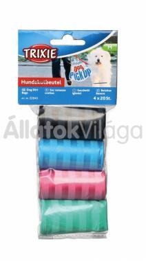 Trixie kutyapiszok zacskó színes, csíkos M-es 4x20db 22840