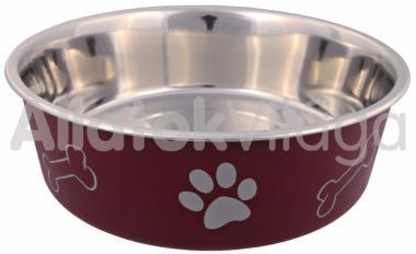 Trixie fém tál egyszerű műanyag borítással 2,20 literes 23 cm-es 25245