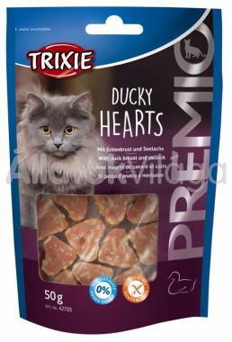 Trixie Premio Ducky Hearts kacsamelles szív 50 g-os 42705