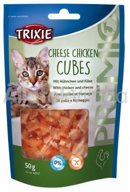 Trixie Premio Cheese Chicken Cubes sajtos csirke kockák 50 g-os 42717