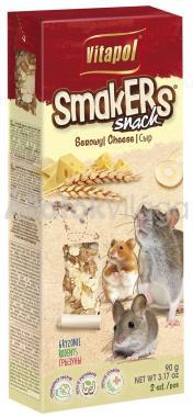 Vitapol Smakers rúd rágcsálóknak (egérnek) sajtos 2 db-os 90 g-os
