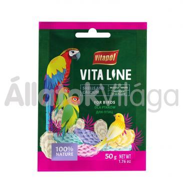 Vitapol Vitaline kismag kagylós és mész díszmadaraknak 50 g-os