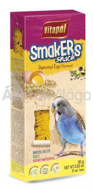 Vitapol Smakers rúd hullámos papagájoknak tojásos 2 db-os 80 g-os