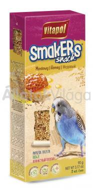 Vitapol Smakers rúd hullámos papagájoknak mézes 2 db-os 90 g-os