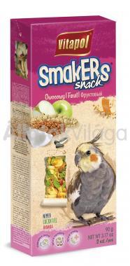 Vitapol Smakers rúd nimfa papagájoknak gyümölcsös 2 db-os 90 g-os