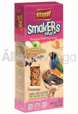 Vitapol Smakers rúd pintyféléknek gyümölcsös 2 db-os 60 g-os