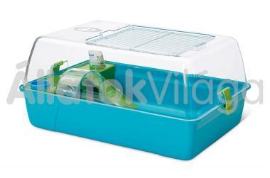 Savic Rody Hamster műanyag hörcsög terrárium felszerelve 55x39x26 cm-es 0166
