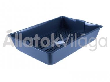 Savic macska wc keret nélkül műanyag rács betéttel 41,5x29,5x10 cm-es 0223